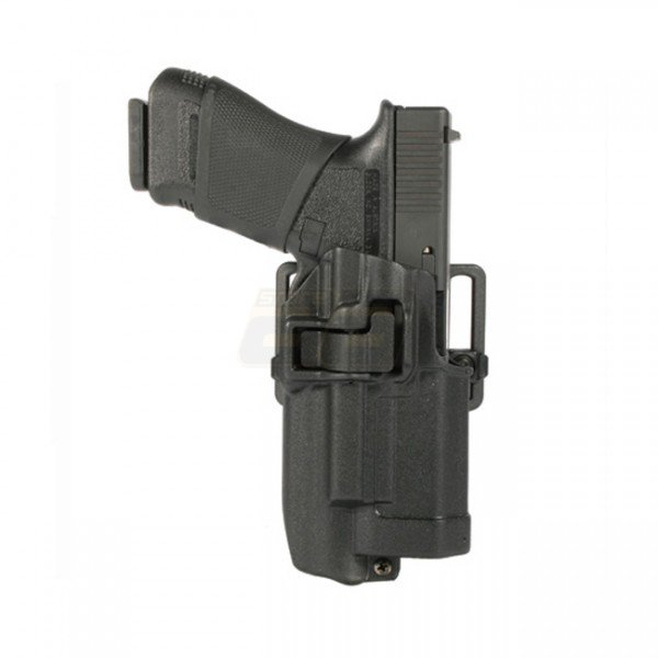 BLACKHAWK Level 2 SERPA Holster Light Bearing Glock 17 RH - Black