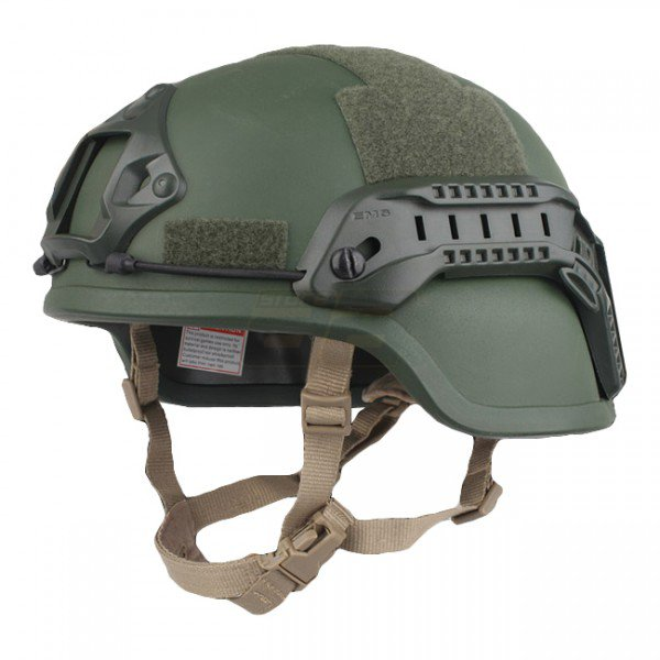 Emerson ACH MICH 2000 Helmet Special Action Version - Olive