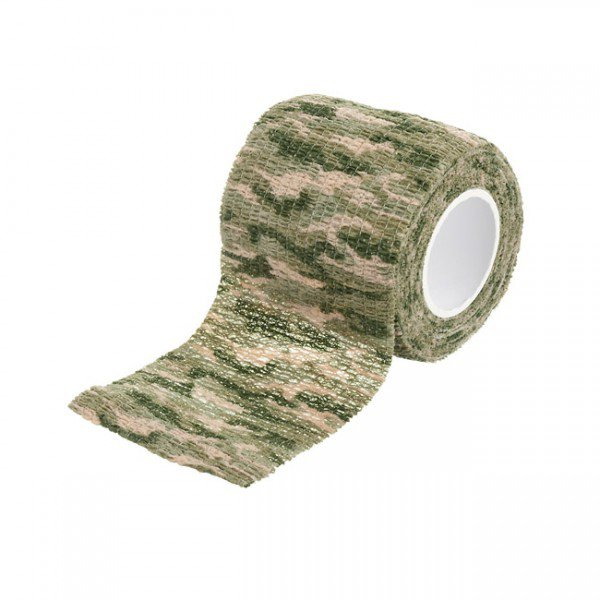 Camo Cotton Tape - Grassland