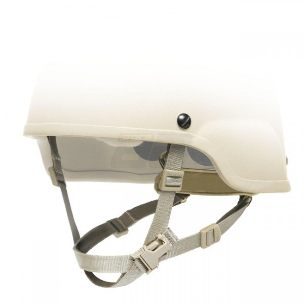 Ops-Core ACH Head-Loc 4-Point H-Nape Chinstrap L/XL - Urban Tan