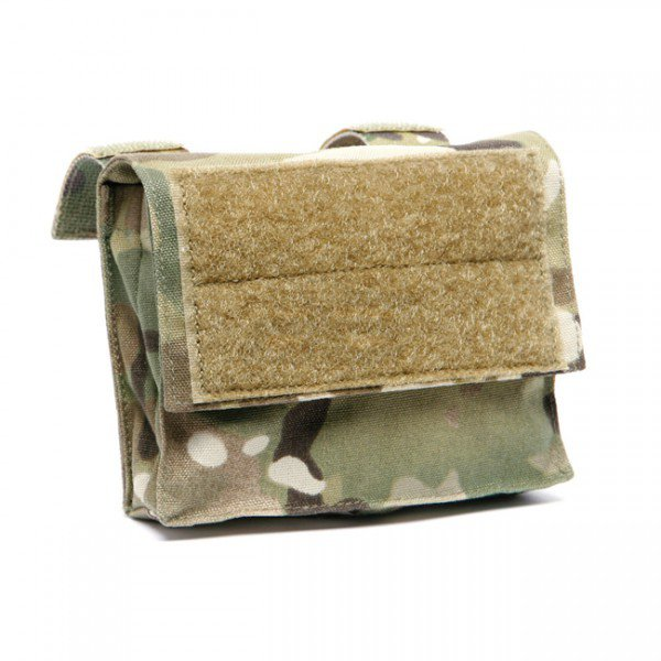 Ops-Core Mesh Helmet Cover Battery Pouch - Multicam