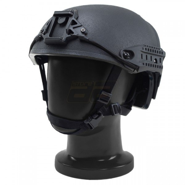 Pitchfork AirVent Level IIIA Tactical Helmet - Black
