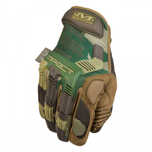 Mechanix Wear M-Pact Tactical Glove - Woodland