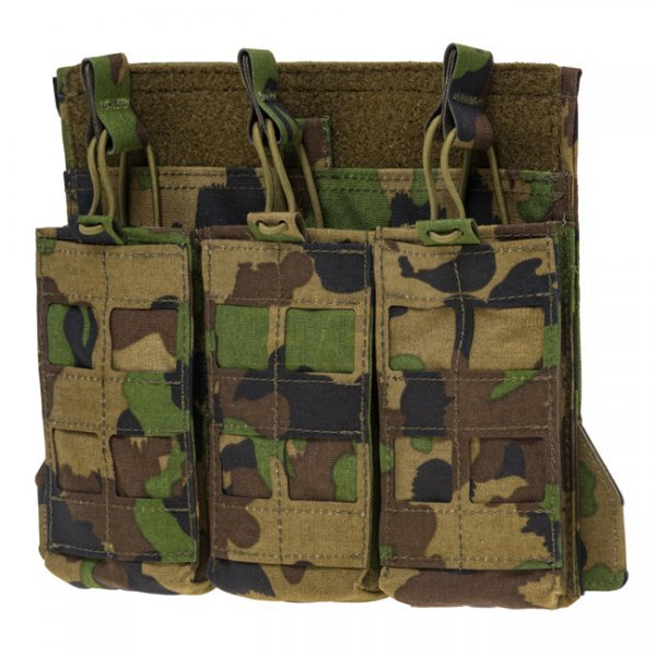 Pitchfork TPC Tactical Plate Carrier Panel 3x1 Shingle - SwissCamo