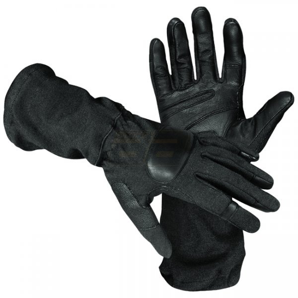 HATCH SOG Operator Tactical Gauntlet Glove - Black