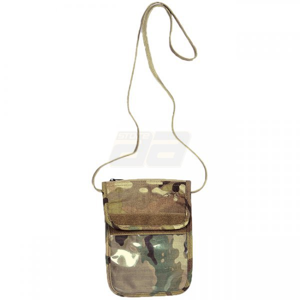 Tasmanian Tiger Neck Pouch - Multicam