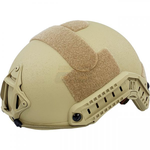 Pitchfork FAST Ballistic Combat Helmet High Cut - Tan