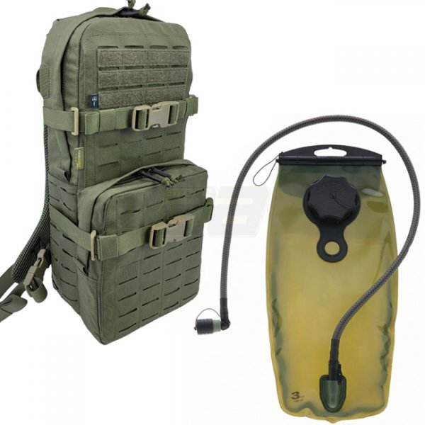 Pitchfork Medium Cargo & Hydration Pack Combo - Ranger Green