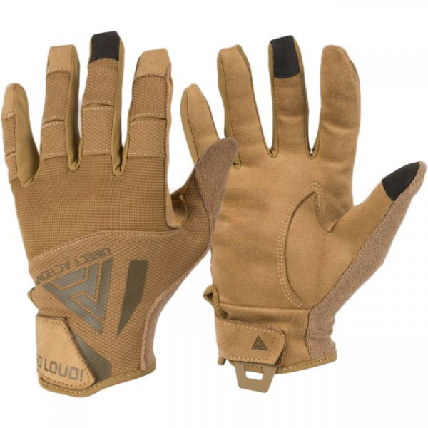Direct Action Hard Gloves - Coyote Brown 2XL