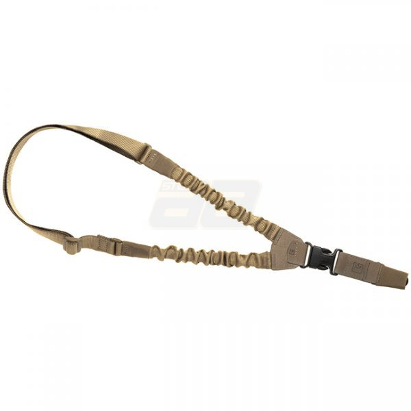 Clawgear One Point Elastic Support Sling Snap Hook - Coyote