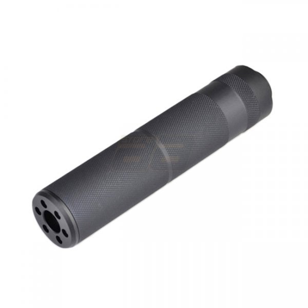 Metal C Type Silencer 155mm - Black