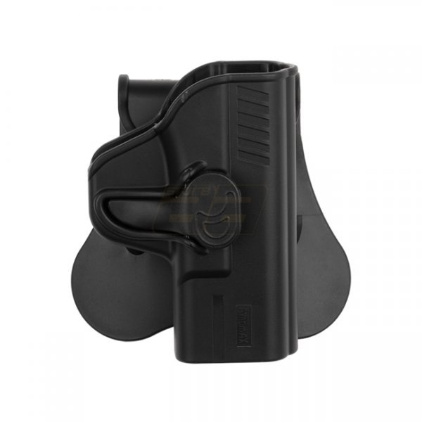Amomax WE / VFC M&P9 Compact Paddle Holster RH - Black