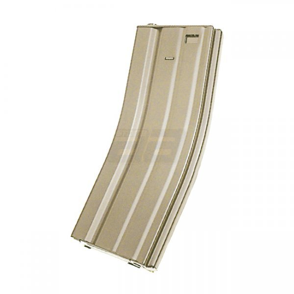 ICS M4 120rds Metal Magazine - Tan