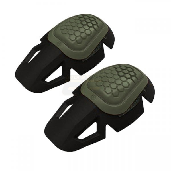 Crye Precision AirFlex Impact Combat Knee Pads - Olive