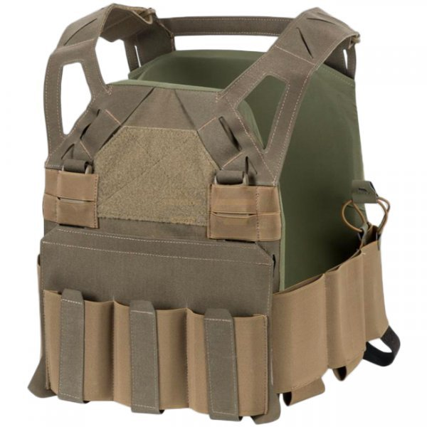 Direct Action Hellcat Low Vis Plate Carrier - Coyote Brown - M