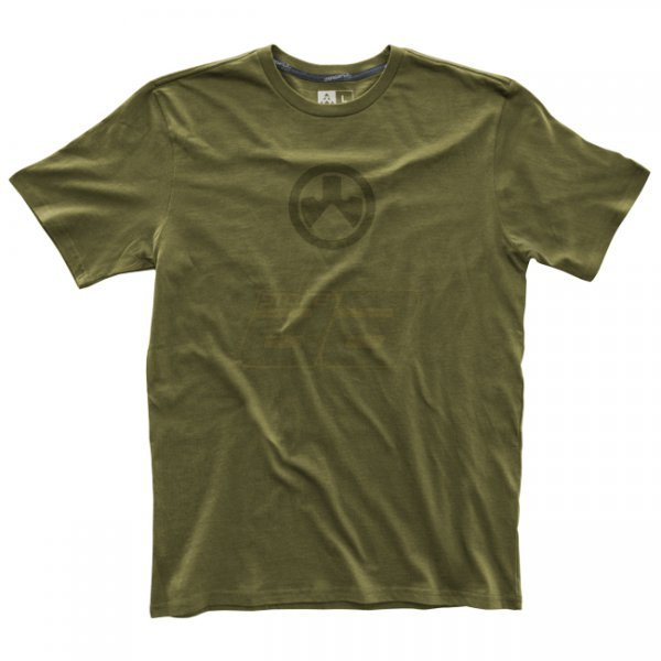 Magpul Fine Cotton Icon Logo T-Shirt - Olive - S