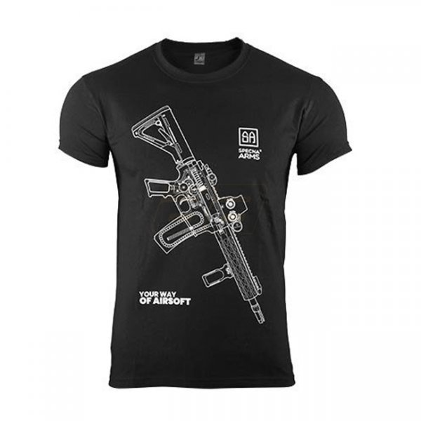Specna Arms Shirt - Your Way of Airsoft 01 - Black - S