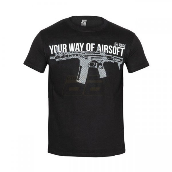 Specna Arms Shirt - Your Way of Airsoft 04 - Black - S
