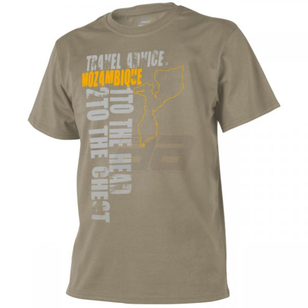 Helikon T-Shirt Travel Advice: Mozambique - Khaki - 2XL