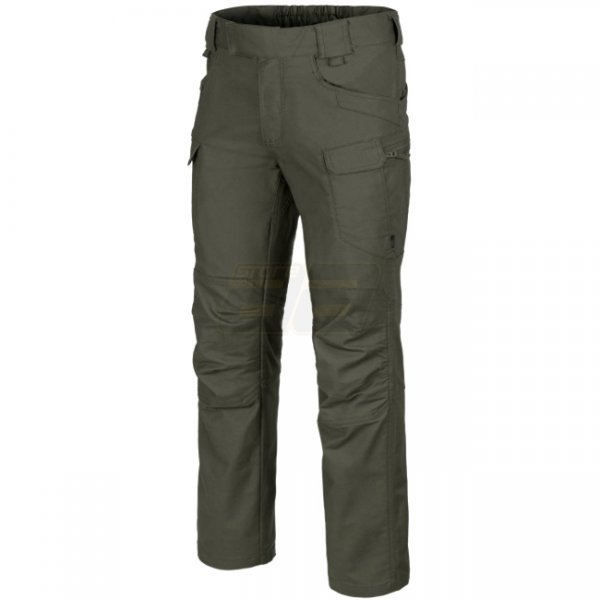 Helikon UTP Urban Tactical Pants PolyCotton Canvas - Taiga Green - M - Short