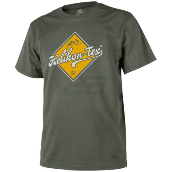 Helikon T-Shirt Helikon-Tex Road Sign - Olive Green - L