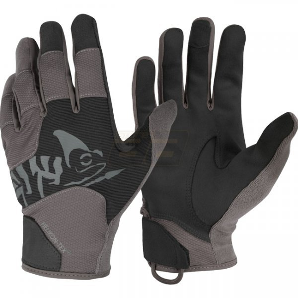 Helikon All Round Tactical Gloves - Black / Shadow Grey A - S
