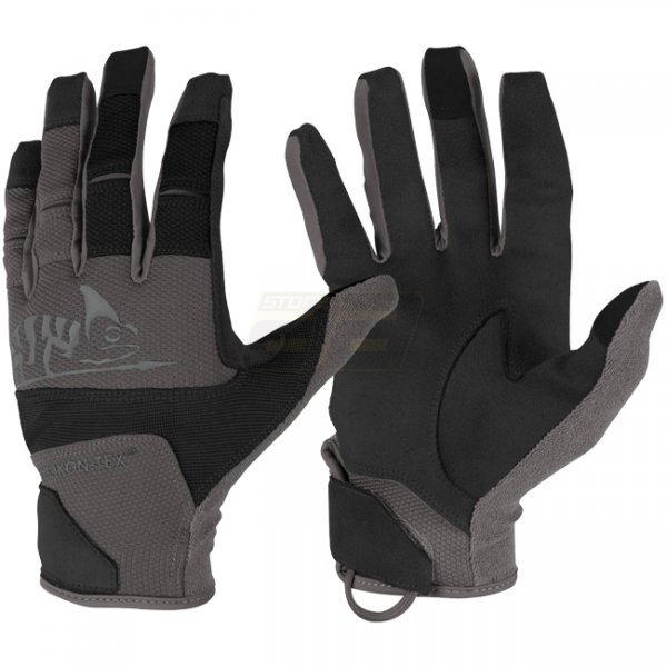 Helikon Range Tactical Gloves - Black / Shadow Grey A - S