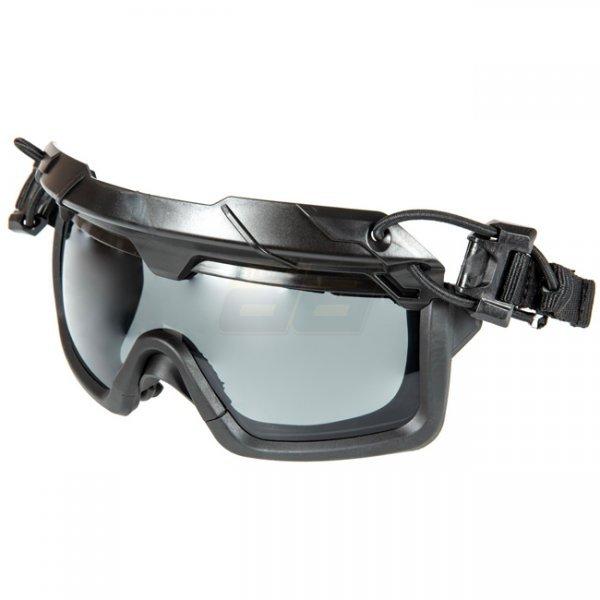 Aa Store Airsoft Softair Shop Fma Tactical Helmet Goggles Grey Lens Black