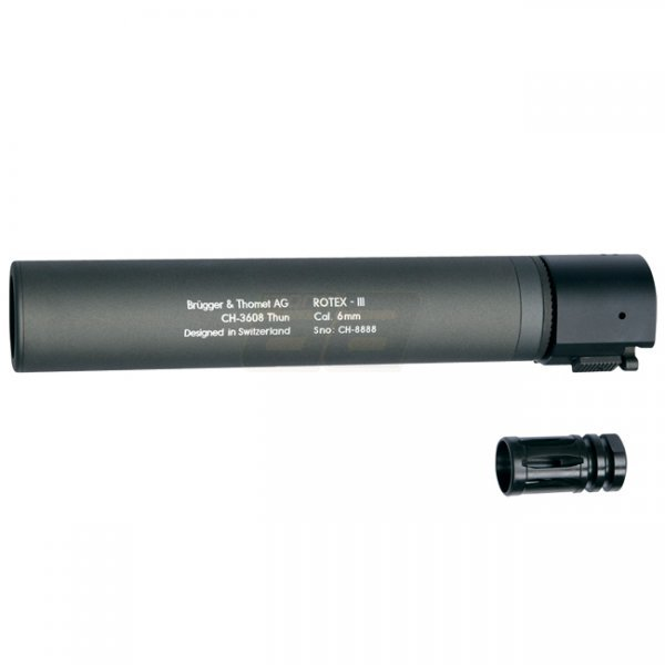 B&T ROTEX III Silencer - Grey