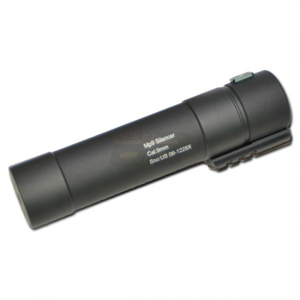 AngryGun MP9 Power Up Silencer - Black