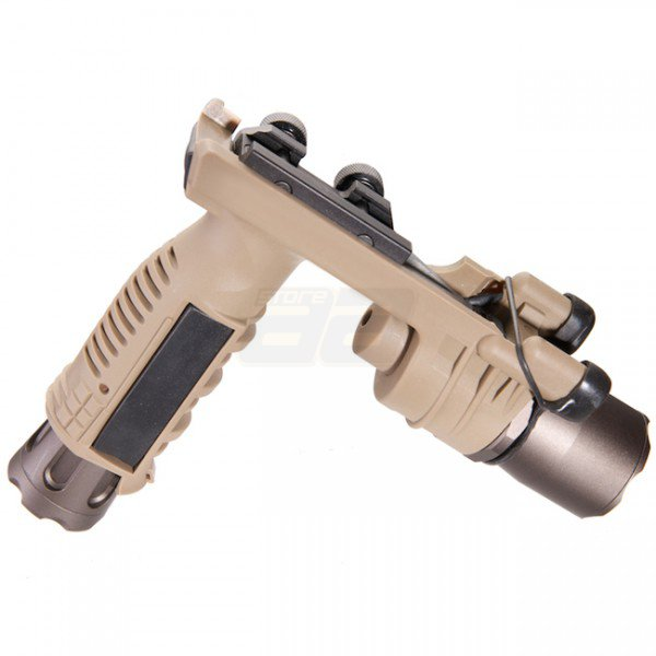 Night Evolution 910A Vertical Foregrip Weapon Light - Tan