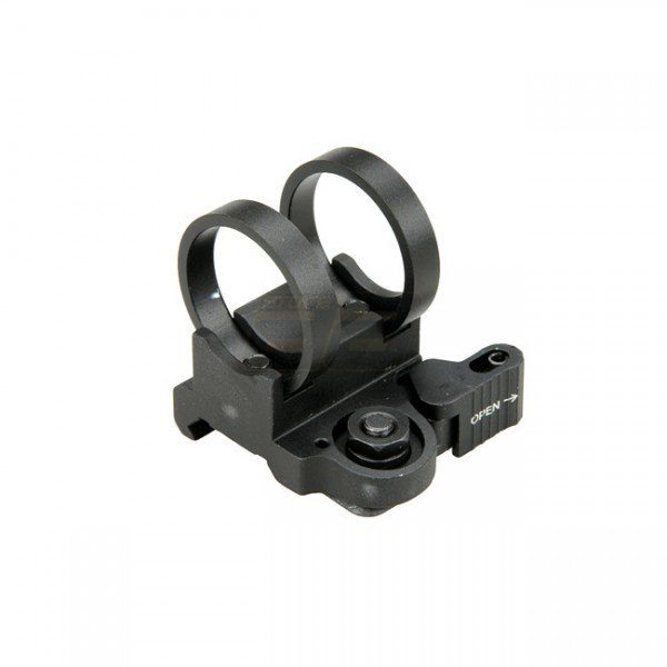 Element LT Inline Flashlight Mount 1.04 inch - Black