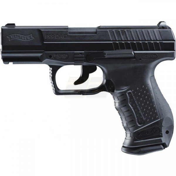 Walther P99 DAO Co2 Blow Back Pistol - Black