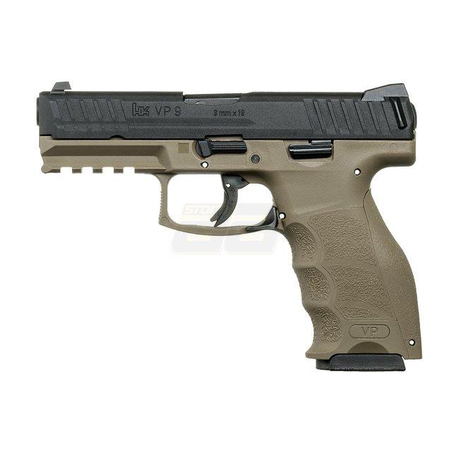 Vfc heckler koch vp9 gas blow back pistol tan for Koch 6 backjournal
