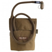 SOURCE Kangaroo 1L Collapsible Canten & Pouch - Coyote