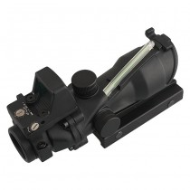 Advanced 4x32 Green Illuminated Scope & RM Reddot - Black 2