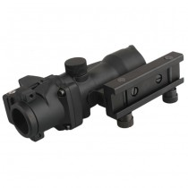 Advanced 4x32 Green Illuminated Scope & RM Reddot - Black 3