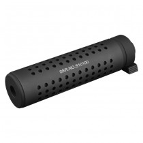 KAC QD Silencer & QD Flashhider 145mm - Black
