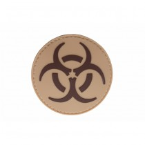Pitchfork Biohazard Patch - Tan
