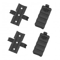 FAST Helmet Rail Mount Set - Black