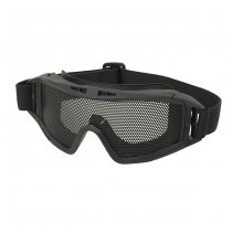 Metal Mesh Wire DL Goggle - Black