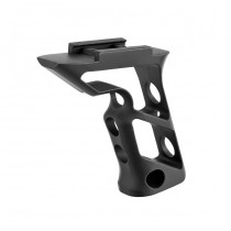 Blackcat Skeleton Aluminium Long Grip - Black