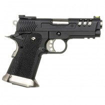 WE Hi-Capa 3.8 Deinonychus Gas Blowback Pistol - Black 1