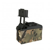 A&K M249 1500BBs Box Magazine - Multicam