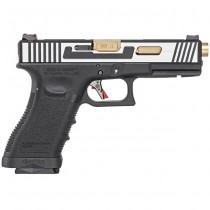 WE G17 Hi-Speed Gas Blowback Pistol - 2-Tone 1