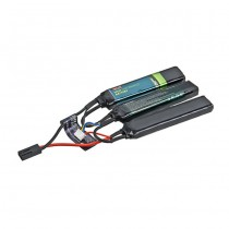 BOL 11.1V 1300mAh 20C Triplet Li-Po Battery - Small Type
