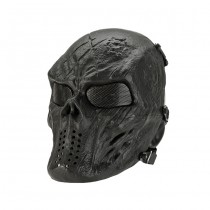 Black God Full Face Mesh Mask