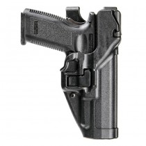 BLACKHAWK Level 3 SERPA Auto Lock Duty Holster RH - P30