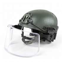 Pitchfork AirVent Level IIIA Tactical Helmet - Olive 5