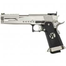 Armorer Works Dragon 6 Inch Gas Blow Back Pistol HX2201 - Silver